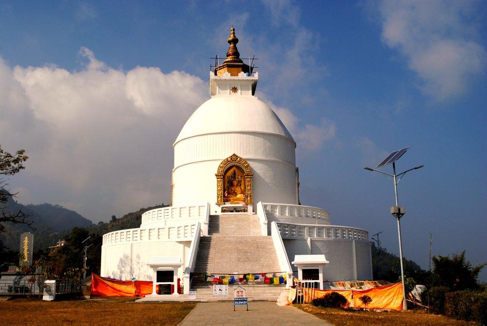 World Peace Pagoda, Pohara, Nepal
