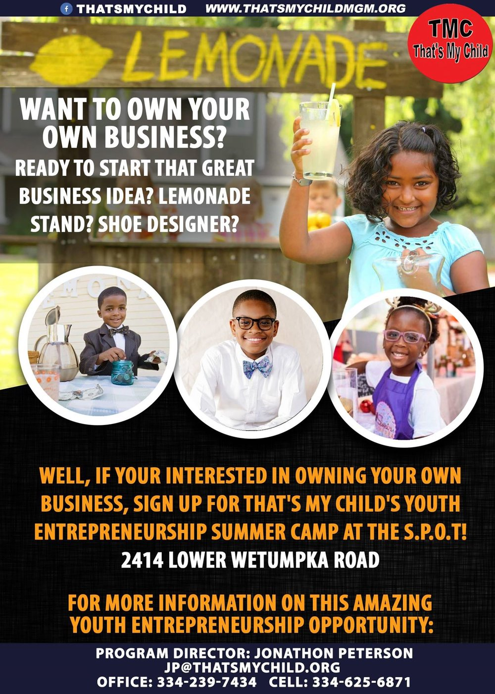 Announcing Our Youth Entrepreneurship Summer Camp !