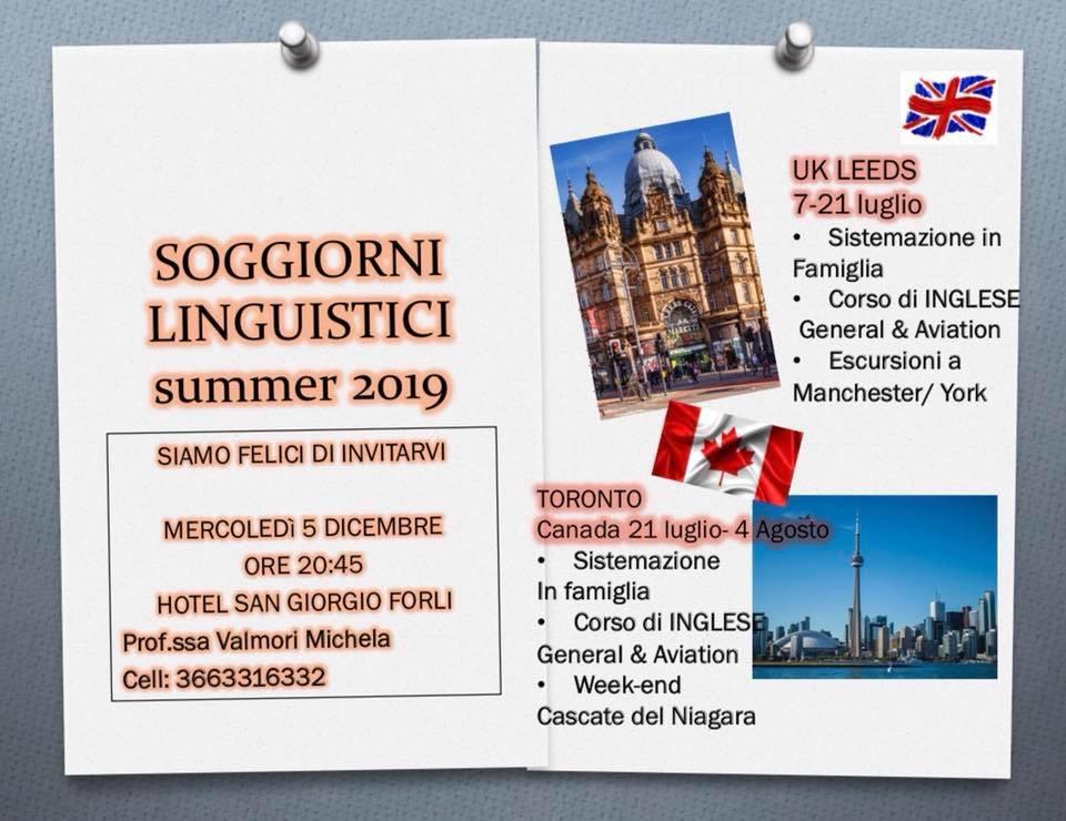SOGGIORNI LINGUISTICI summer 2019 - FROM LONDON WITH LOVE