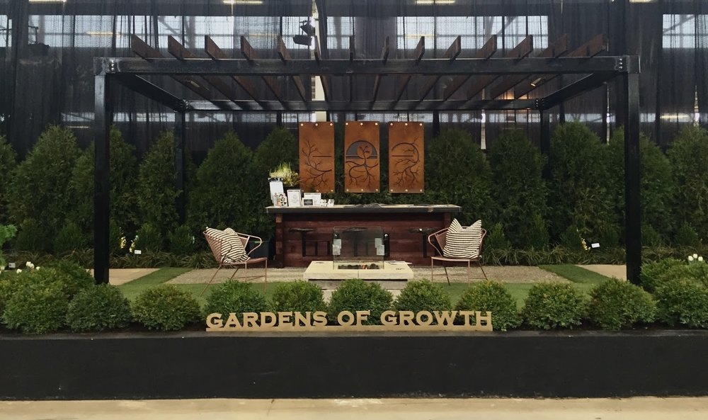 2016 indiana flower and patio show gardens of growth 1