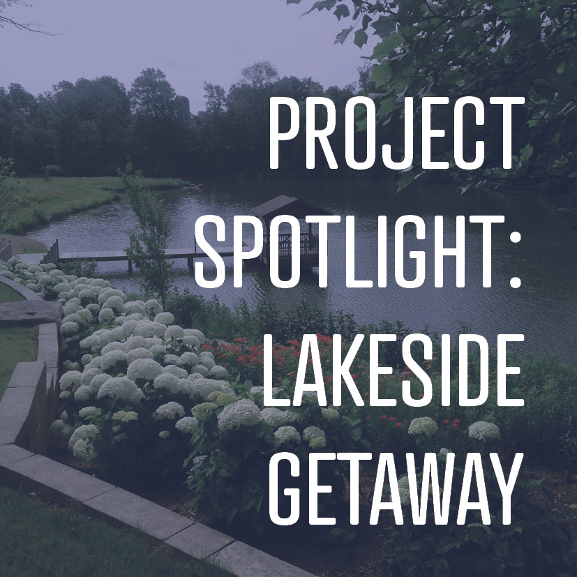 This project in Greencastle, IN, used almost 100% native plant species in managed and naturalized areas.