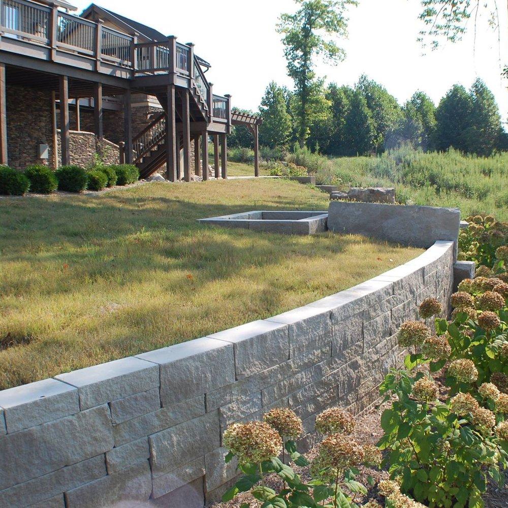 Buffalo grass isn't deep green, but it is dense and durable.