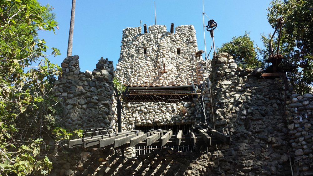 IMG SRC: Long Live Luxury / The drawbridge at Rubel Castle