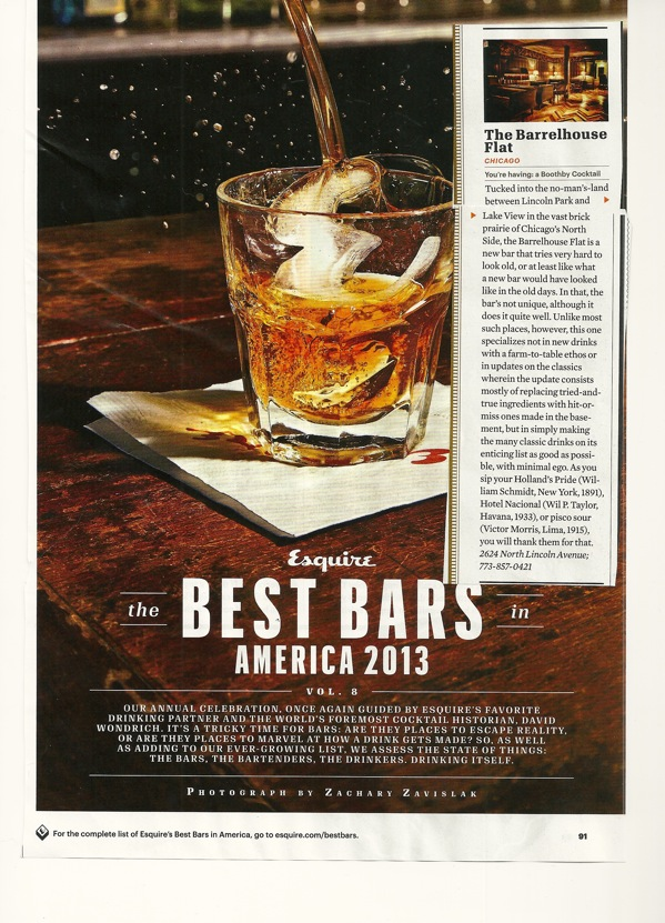 """The Best Bars In America: 2013"""
