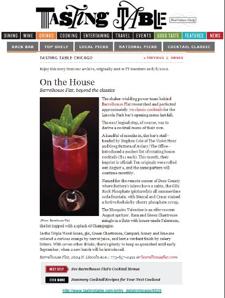 """On the House: Barrelhouse Flat, beyond the classics"""