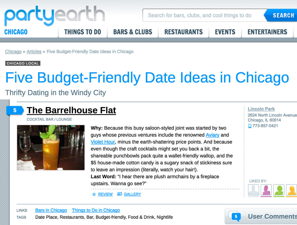 """Five Budget-Friendly Date Ideas in Chicago"""