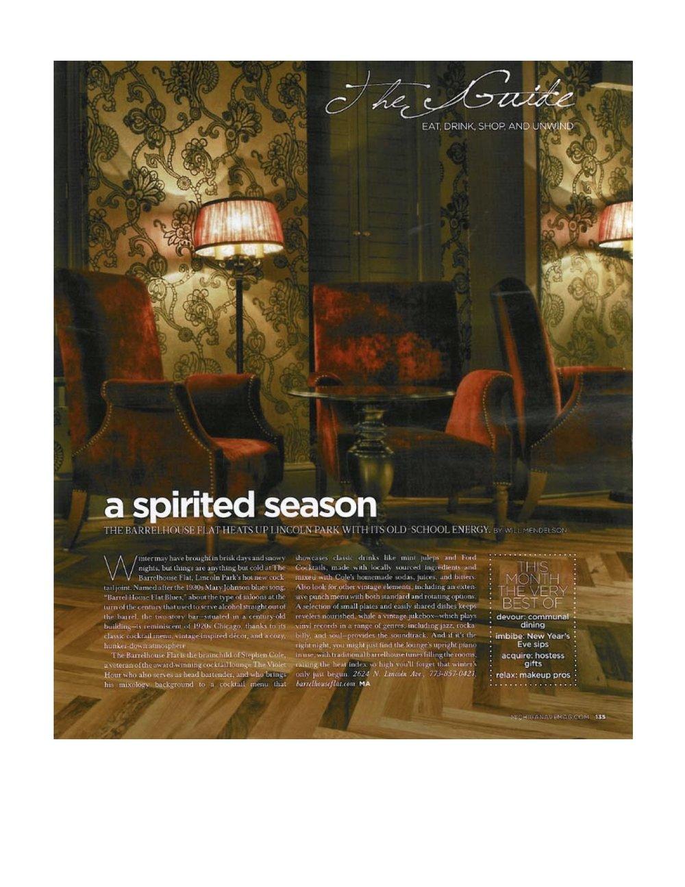 """""""A spirited season"""""""
