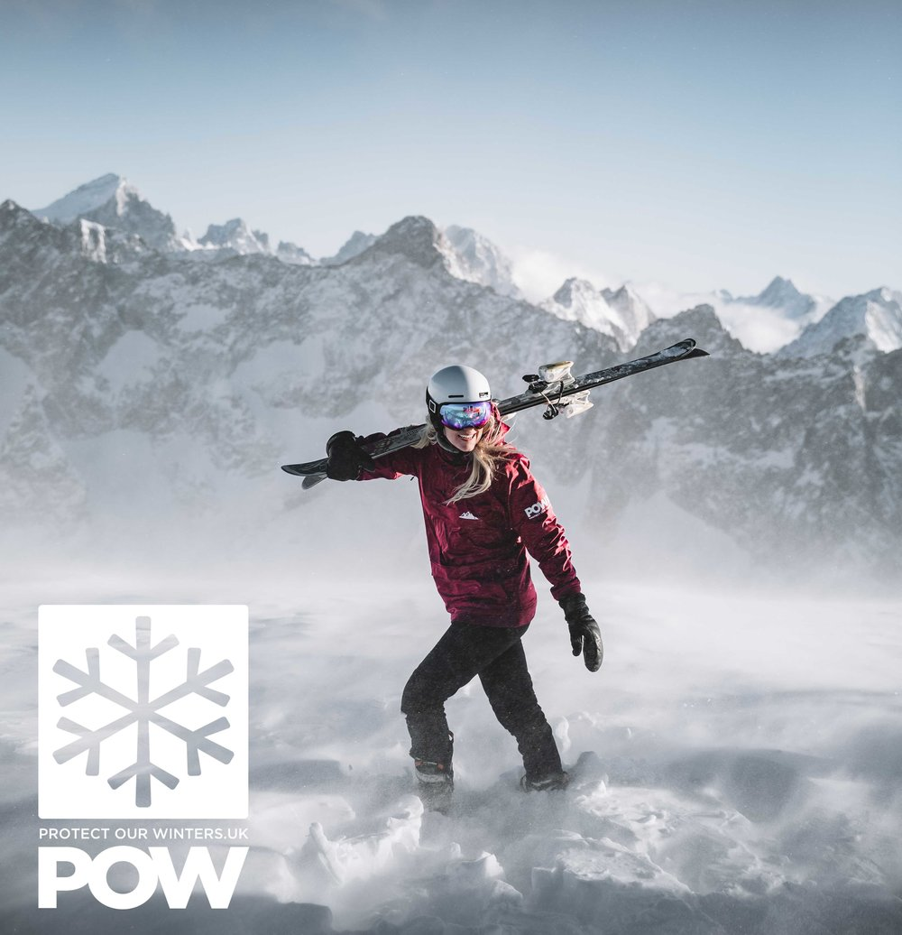 The snow level is getting higher, seasons are shorter and conditions are increasingly unpredictable and extreme. Climate change is already affecting winter. - Along with POW UK we are committed to doing what we can to enact positive climate action and to changing the narrative on climate change.