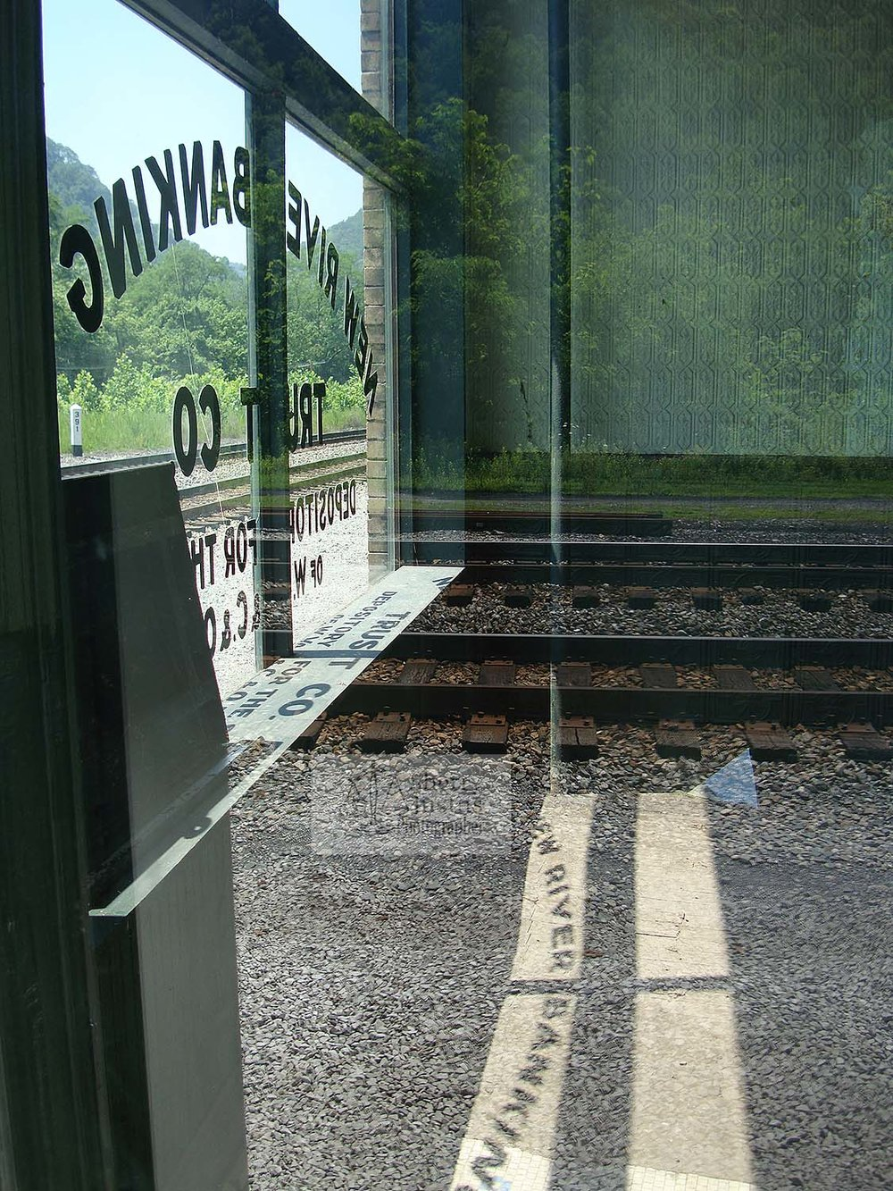 Railroad bank