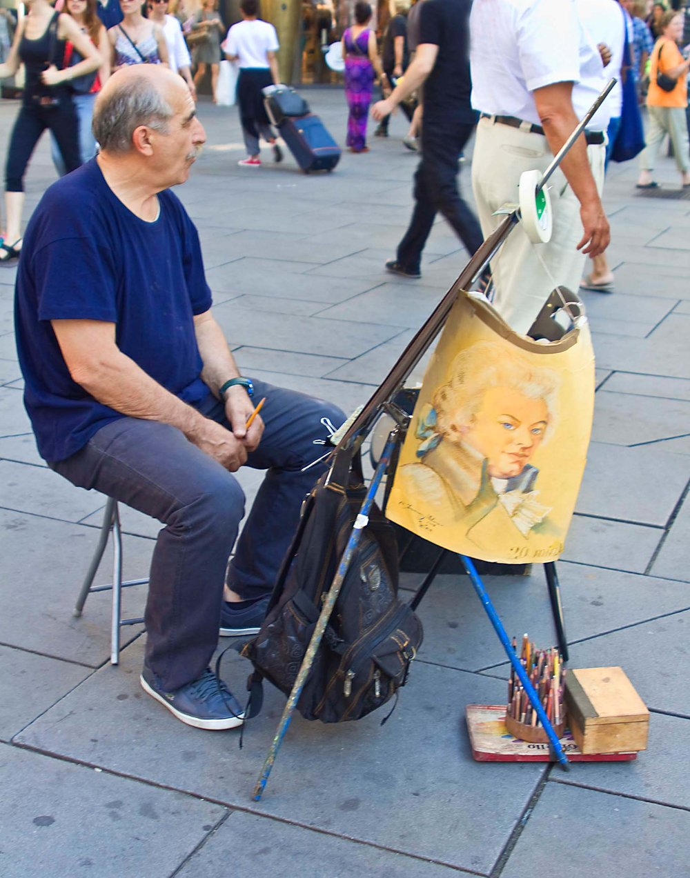 Paint your portrait?