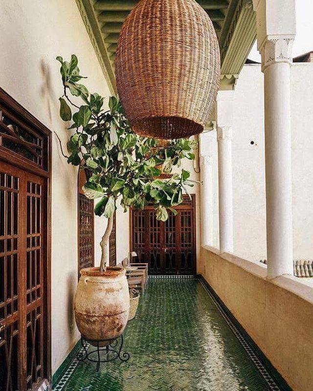 Esteriör i Marrakesh!