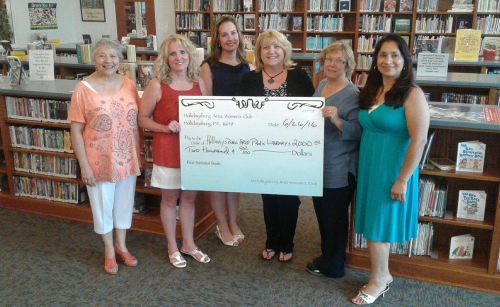 Grant Recipient - Hollidaysburg Area Public Library - GFWC HAWC