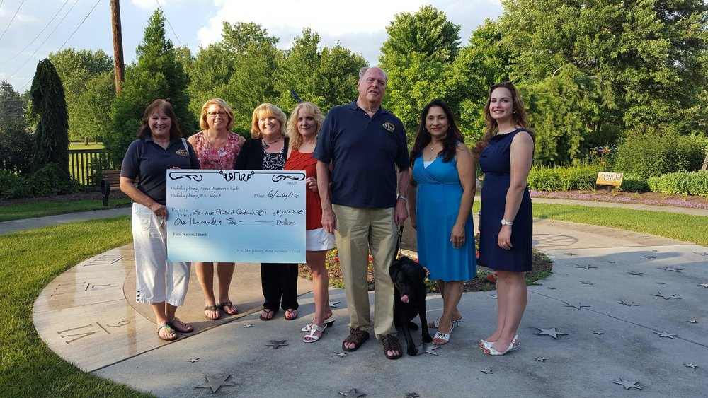 Grant Recipient - Service Paws - GFWC HAWC