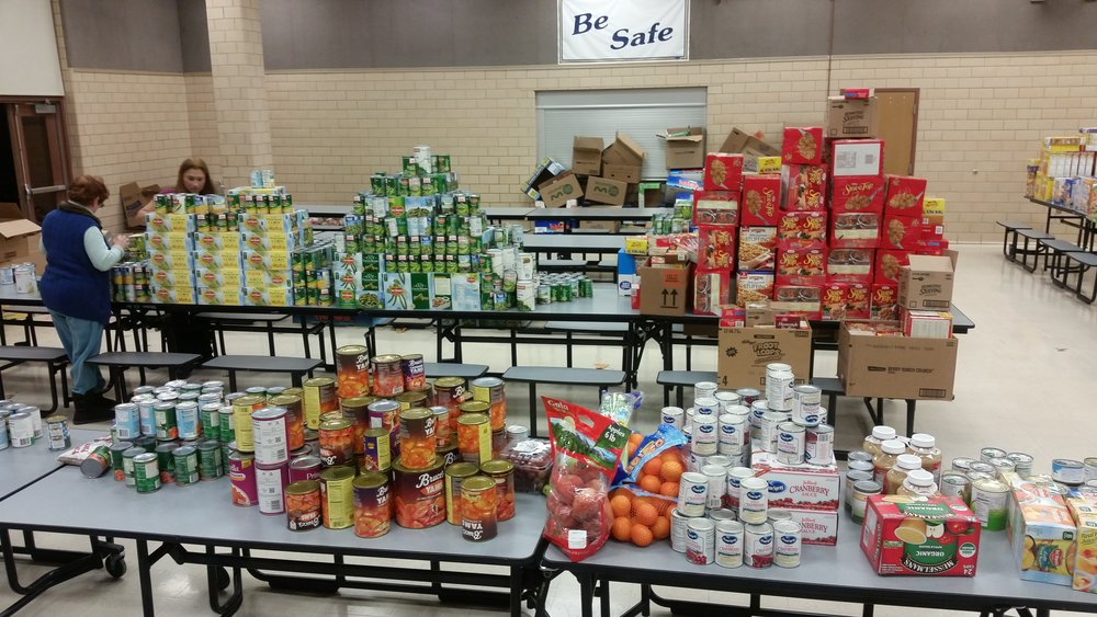 Thanksgiving Food Drive Donations - GFWC HAWC
