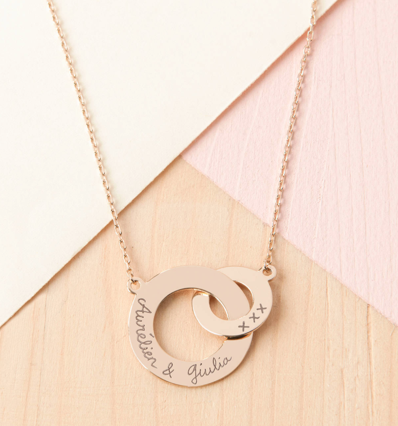 Personalised Intertwined Necklace - £89.00