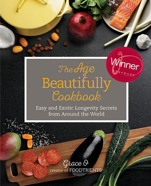 The age beautifully cookbook wins national gourmand award broadthink the foodtrients brand was created and developed by broadthink for our client grace o her age fighting recipes were the inspiration for her popular website forumfinder Image collections
