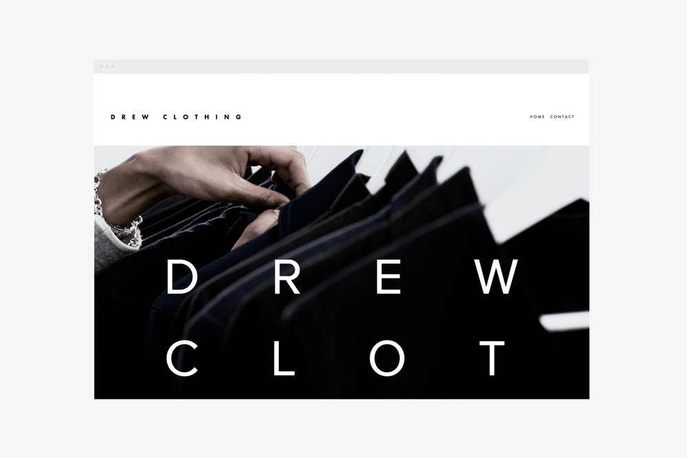 view Drew Clothing