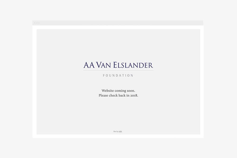 view Van Elslander Foundation
