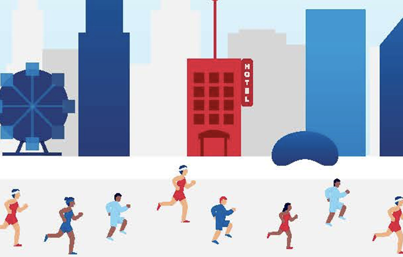 Bank of America Marathon - INFOGRAPHIC
