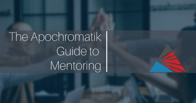 07d298384872 The Apochromatik Guide to Mentoring: Part II – 8 Things Mentees and ...