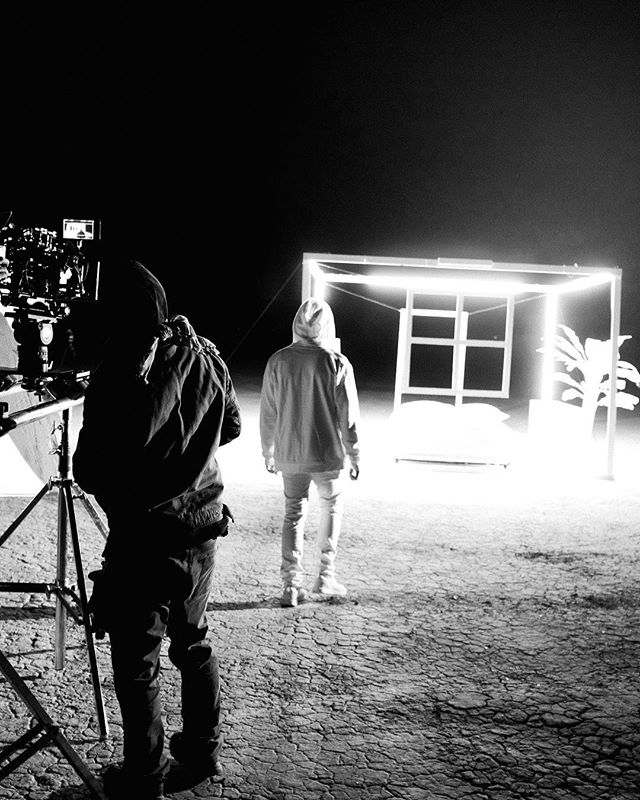 Making first contact... #zackgray #imperfectlove  music video coming soon 📷 @thuirer