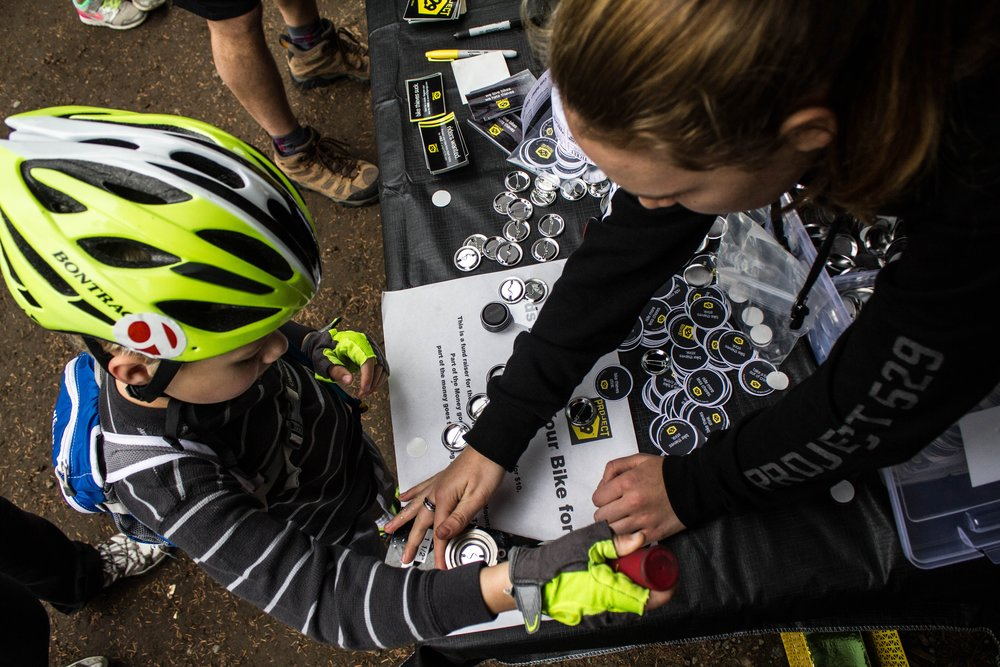 WE BELIEVE IN COMMUNITY - New riders need coaching, trails need digging, and advocate organizations need money.