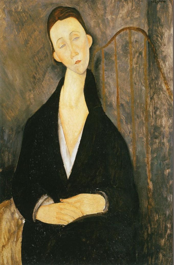 12) Lunia Czechowska, c. 1918