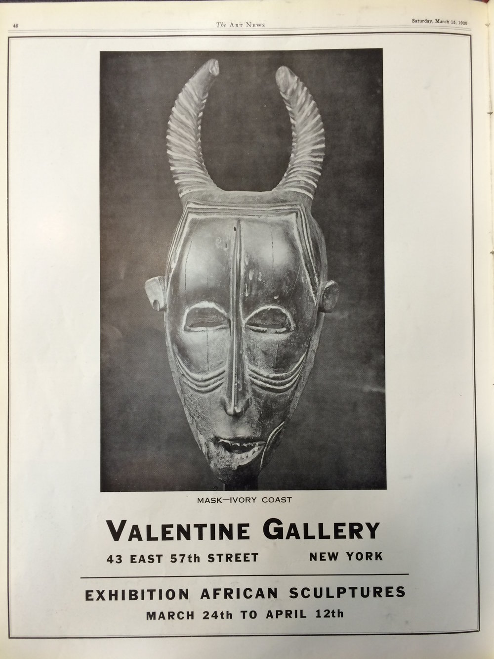 The Paul Guillaume Collection Of African Art Comes To The Valentine