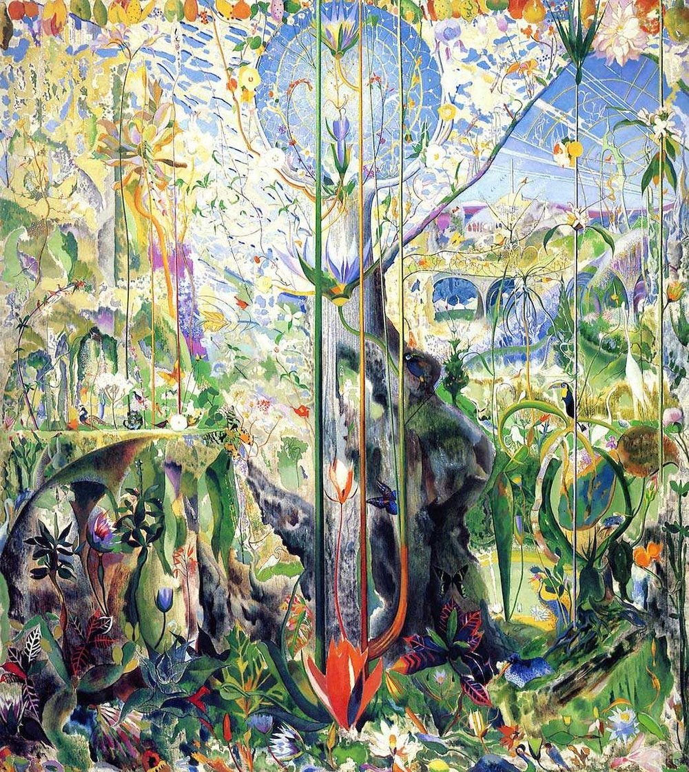 Joseph Stella,  Tree of My Life , 1919, 83 1/2 x 75 1/2 inches. Private Collection. This painting was sold by Dudensing to Carl Weeks in 1925.