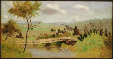 Adirondacks: Bridge for Fishing , 1897, The Phillips Collection, Washington, D.C.