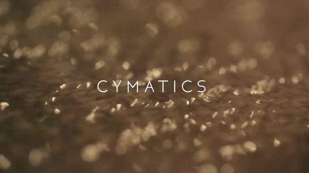 Cymatics // A Tonoscope Installation