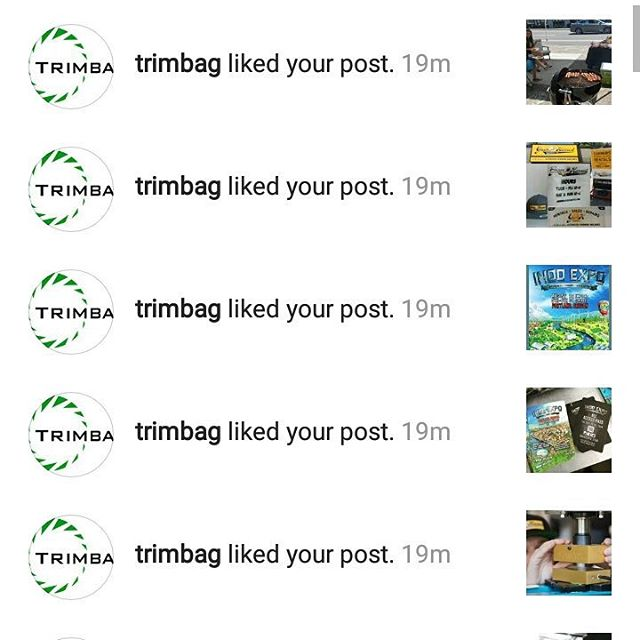 Thanks for all the love @trimbag !! What an exciting Indo Expo! Be sure to stop by the #trimbag fees and show them some Green harvest love!