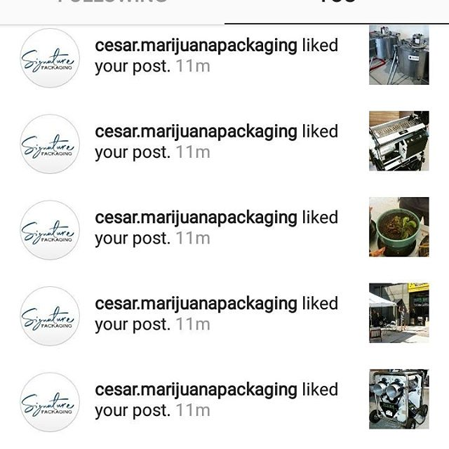 Lots and lots of love going on today! Gotta love the #cannabisindustry . Go show @cesar.marijuanapackaging Some affection!