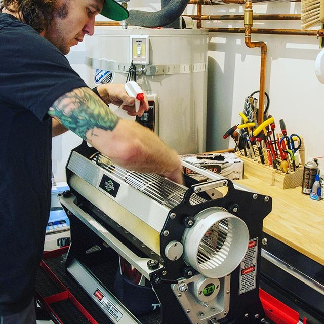 Every time a machine comes back to us we make sure to completely disassemble the trimmer. This helps us clean the machine perfectly as well as making sure every part is in working order! Feel free to stop in and ask about our cleaning procedure!  #pdxgrown #pdxtrim #pdxgrows #pdxgrowers #pdxtrimmers #pdx420 #trimmingsucks #automatictrimmer #greenharvest #seaofgreen #getyourtrimon #trimnation #olcclicensed #olccgrow #ommplicensed #ommpgrow #ommpgrower #oregongrown #oregonbuds #541trim #541grows #budtrimmer #warehousegrows #warehousebud #biggrows #weed #420 #trim #kief