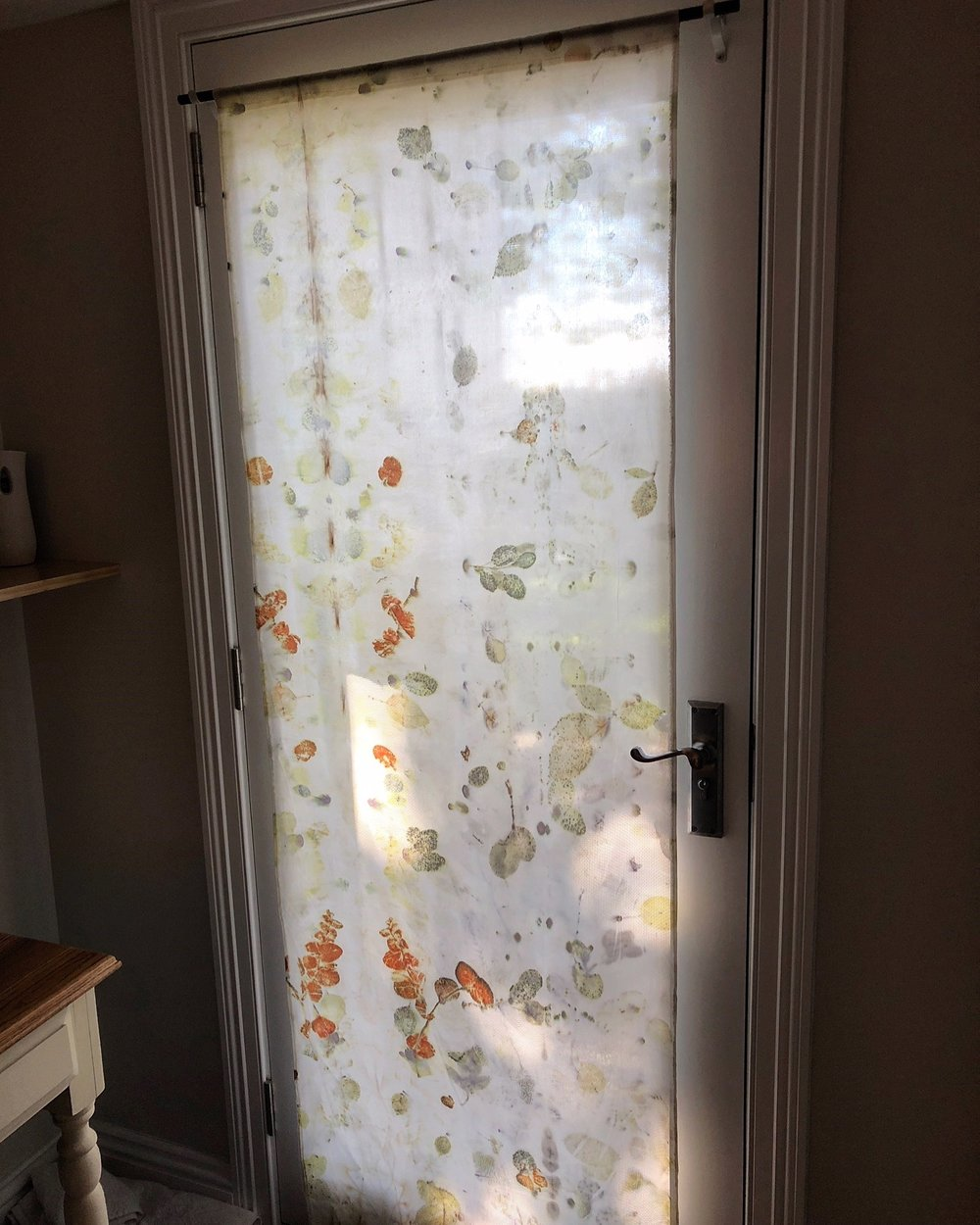 Commissioned curtain