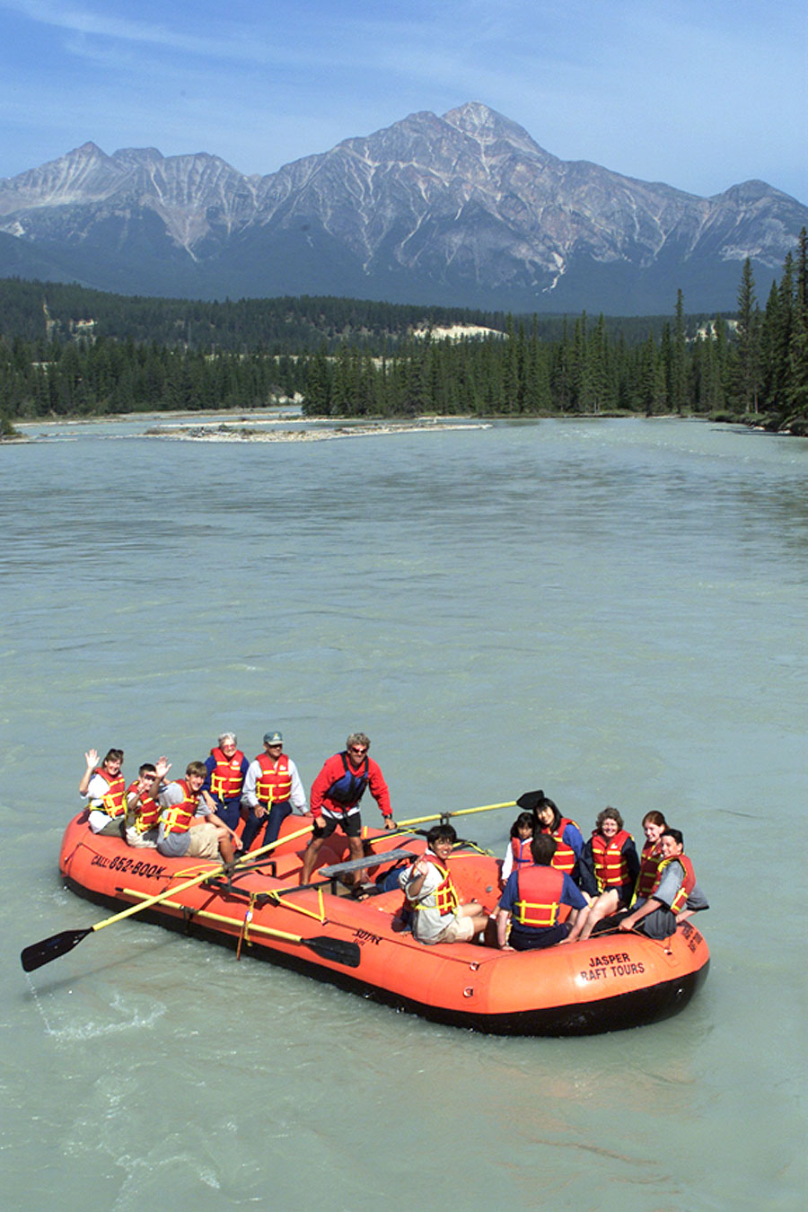 Float Style Rafting on the Athabasca River