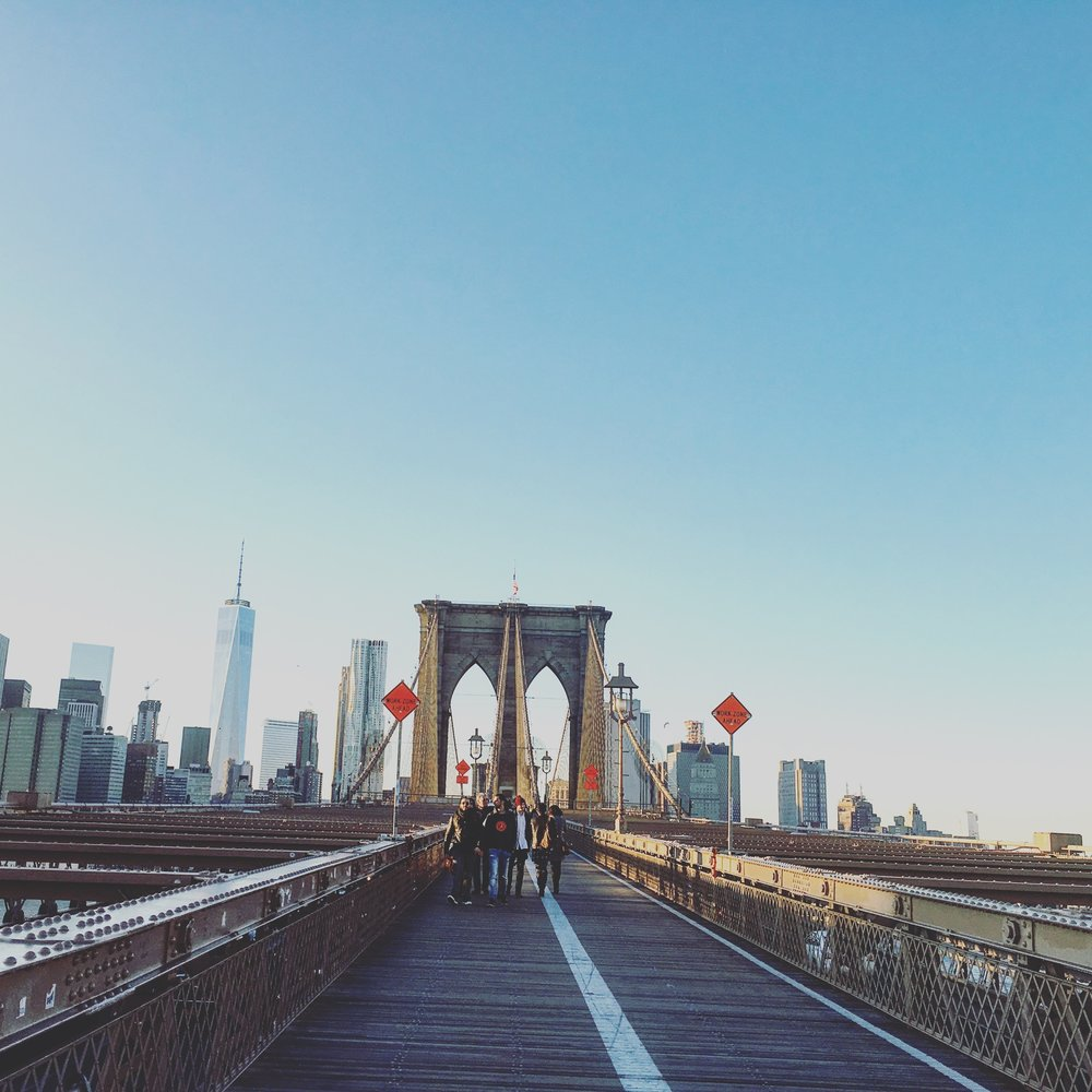 View from the Brooklyn Bridge, December 2015, just because.