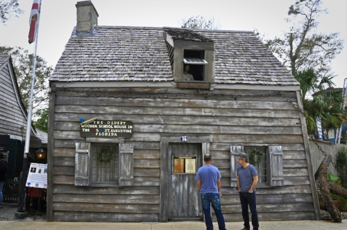 The oldest wooden school in the US