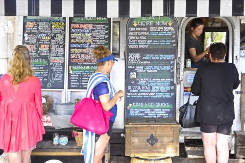 Food trucks in Sea side