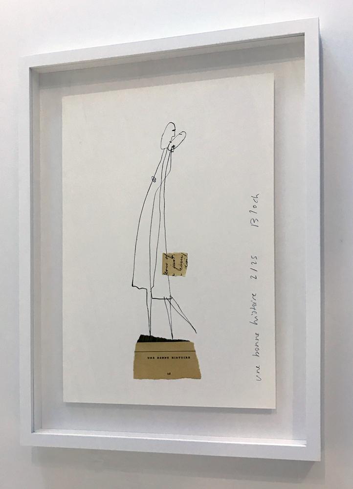 SERGE BLOCH dessin — Michele Mariaud gallery