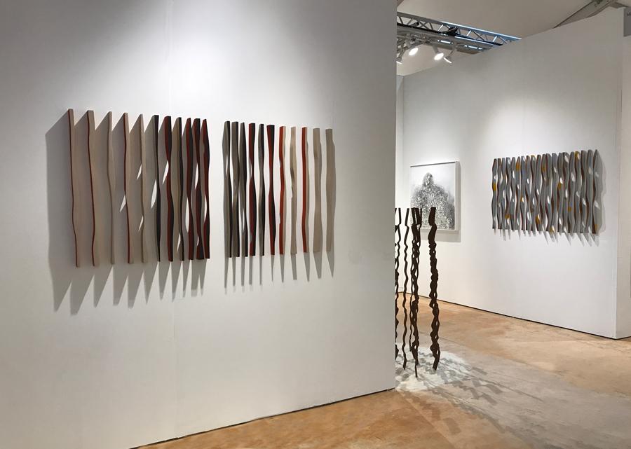 Art Market Bridgehampton (2017) - Artists: Yolanda & H, Zhou Hongbin, Albert Delamour, Pascal Pierme, Joan Salo, Pascal Girardin, Stepanka.