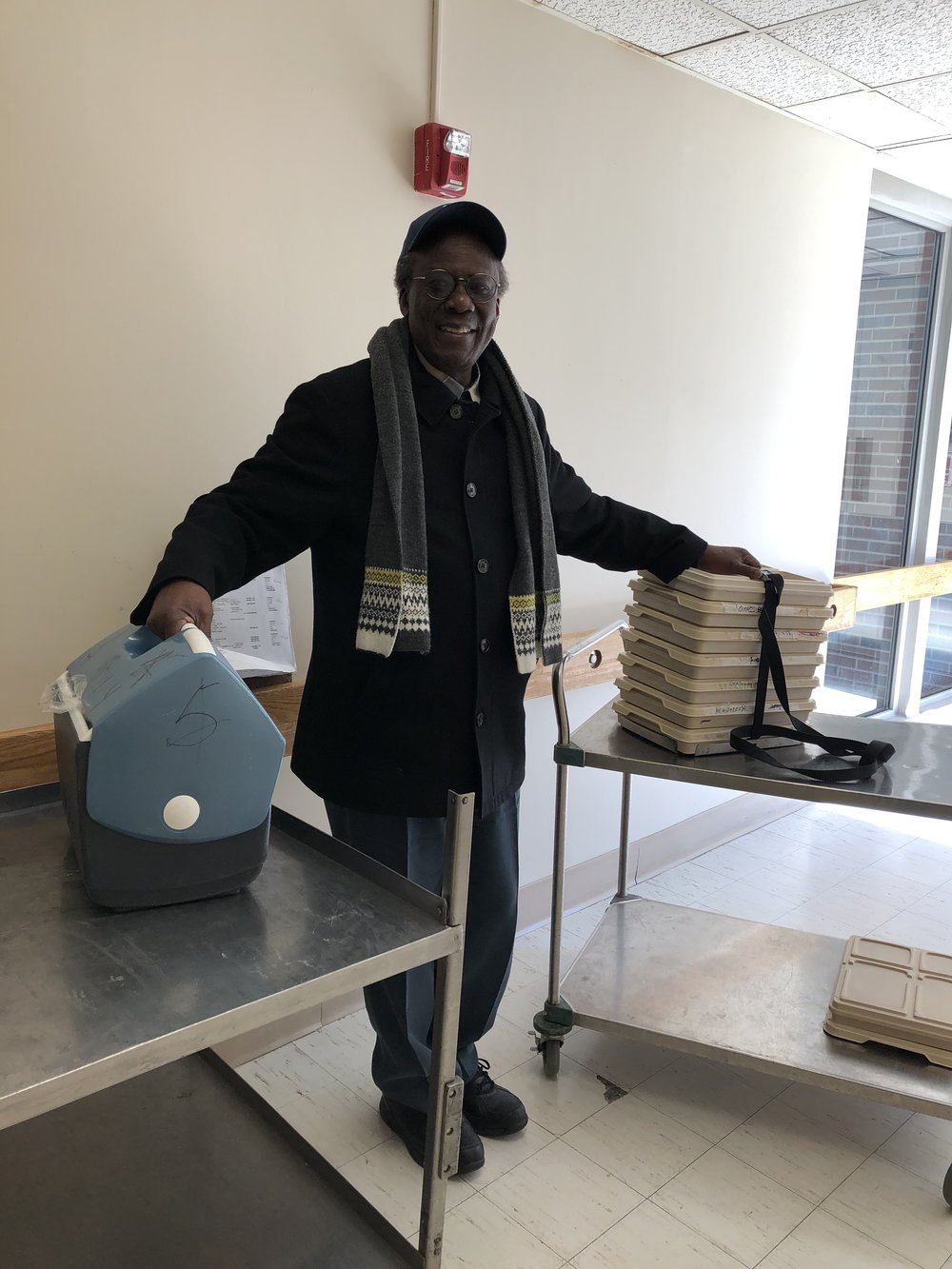 "Francis Okelo delivers MOW because he ""wants to lend a helping hand"" to his New Rochelle neighbors."