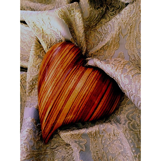 One of my new hearts #carvings #hearts #gifts
