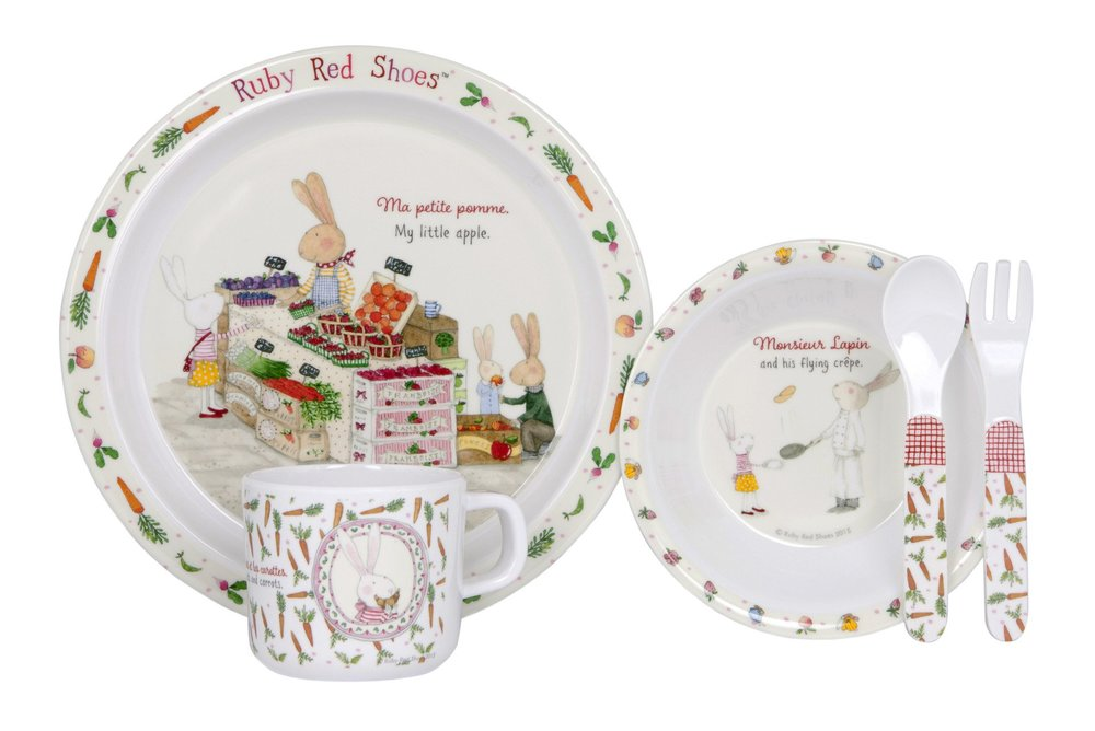 Ruby Red Shoes Dinner Set - $29.99 - Buy Here