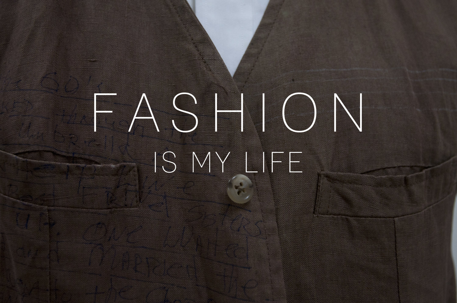 c8426cf3b Fashion is My Life — Dr. Bill Russell