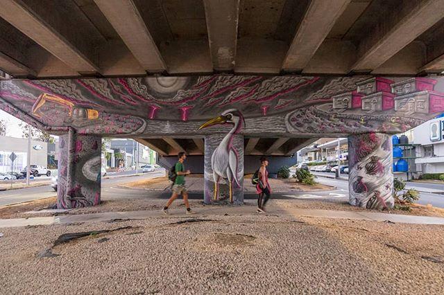 Mural: El manglar y la huella humana. Artistas: @casotres  @madmagoz8 @sinlessoner @sole.grk @magma_grk Producción: @martanoemi.n • #graffiti #espaciopublico #manglares #Panamá #fotodocumental #documentaryphotographer #murales #mural #Panamazing #arte #arteurbano #streetart #streetarteverywhere