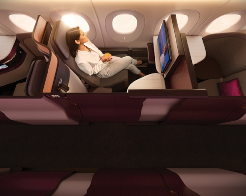 Q-Suites - Photo: Qatar Airways