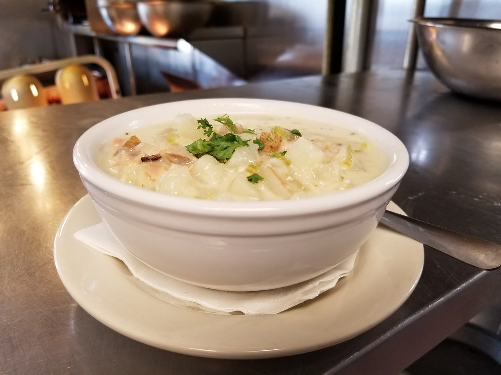 Irish Kevin's Clam Chowder - Best this side of The Rocky River