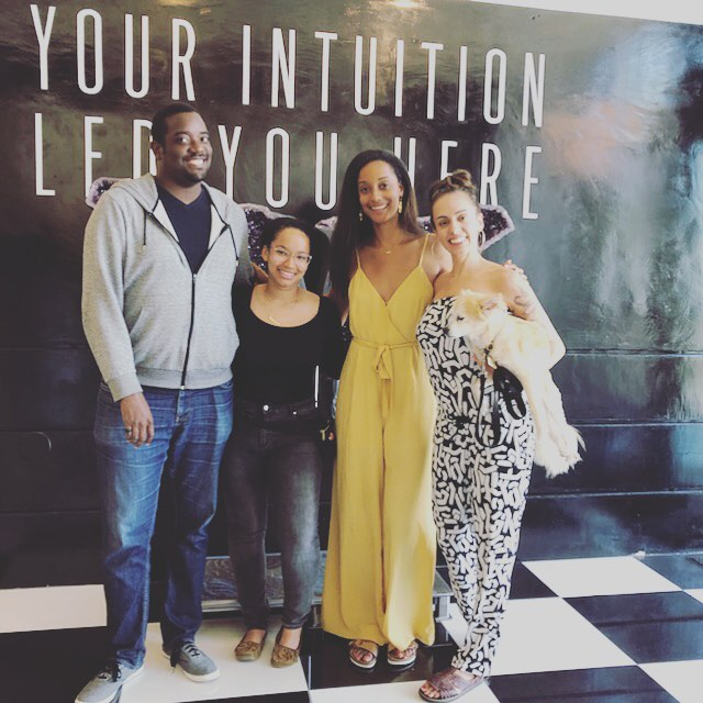 Today we have to give a special thank you to @suzillionaire and @houseofintuition for welcoming us into their space yesterday!! 🙏🏾🙏🏾🙏🏾✨✨✨💕💕💕 We didn't realize it was possible but we love our favorite place EVEN MORE. Thank you also to those who came out!!