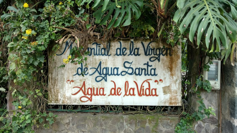 "Spring of the Virgin of Holy Water, ""Water of Life"""